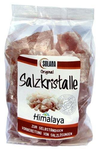 Salzkristalle Reines Rosa Bekannt Als Himalaya Salz 600 Gramm